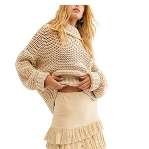 Free People | My Only Sunshine Cowl Neck Sweater